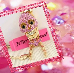 Betsey Johnson Skeleton Necklace
